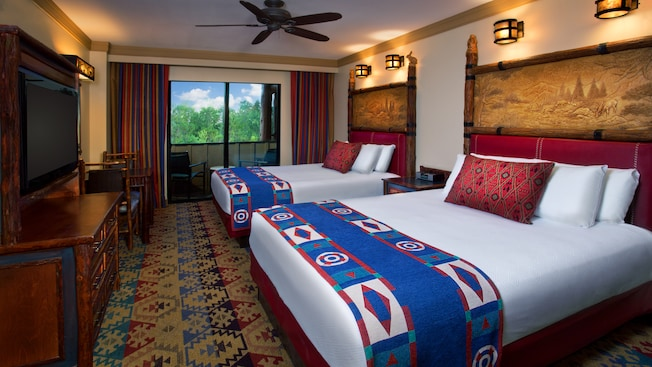 Standard Room at Disney's Wilderness Lodge