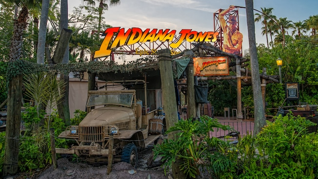Image result for indiana jones epic stunt spectacular 2017