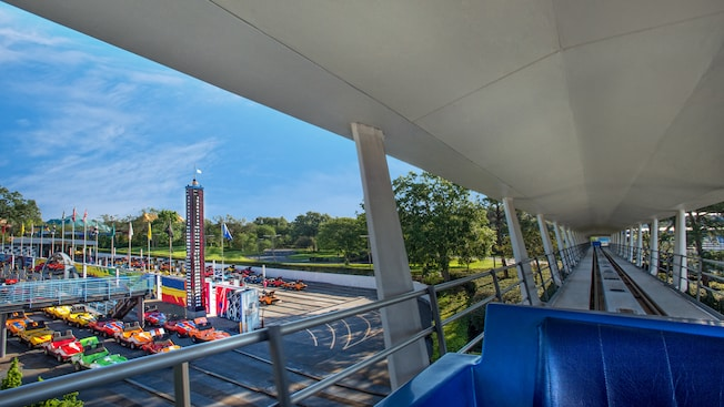 Image result for magic kingdom tomorrowland people mover
