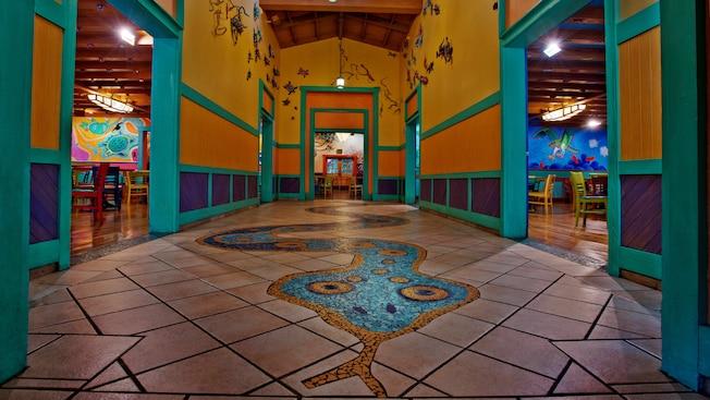 Pizzafari Dining Walt Disney World Resort