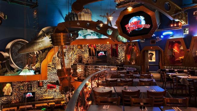 planet hollywood restaurant walt disney world resort. Black Bedroom Furniture Sets. Home Design Ideas
