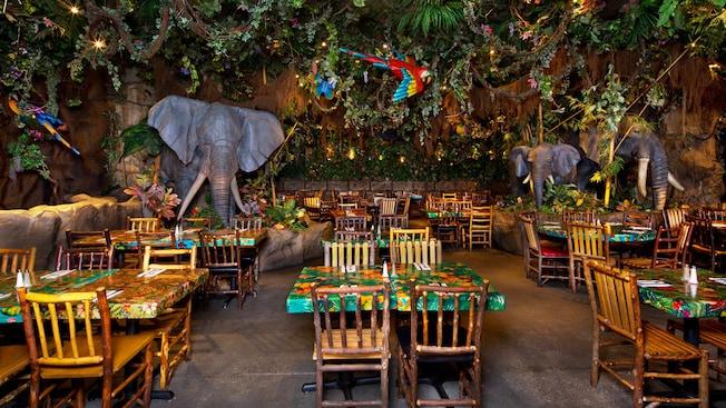 Rainforest Cafe Downtown Disney Walt Disney World