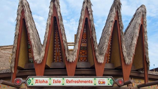 Visit the new Polynesian-themed home of Aloha Isle, a popular snack shop at Walt Disney World Resort.