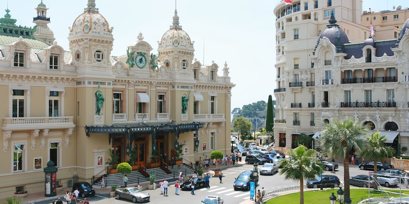 The Hotel de Paris Monte-Carlo
