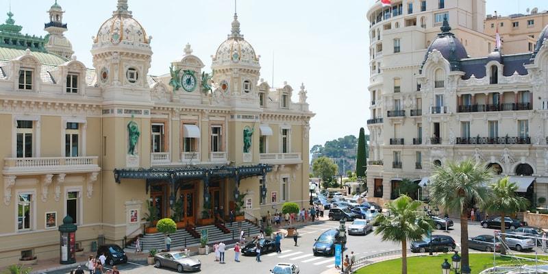 The Hotel de Paris Monte-Carlo
