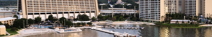 A marina with 2 adjacent pools