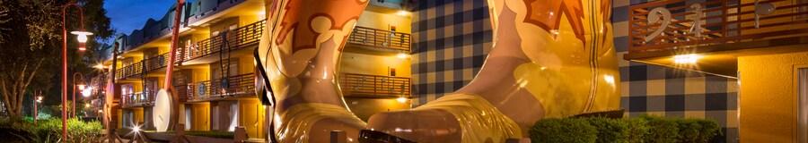 Exterior of Disney's All Star Music Resort