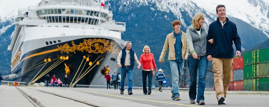 Alaska Cruise Ports Of Call Disney Cruise Line