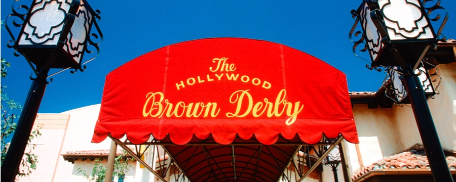 Le porche d'entrée du Hollywood Brown Derby