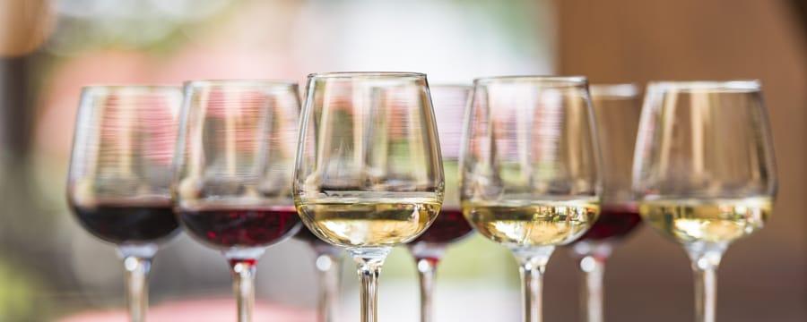 8verres de vin