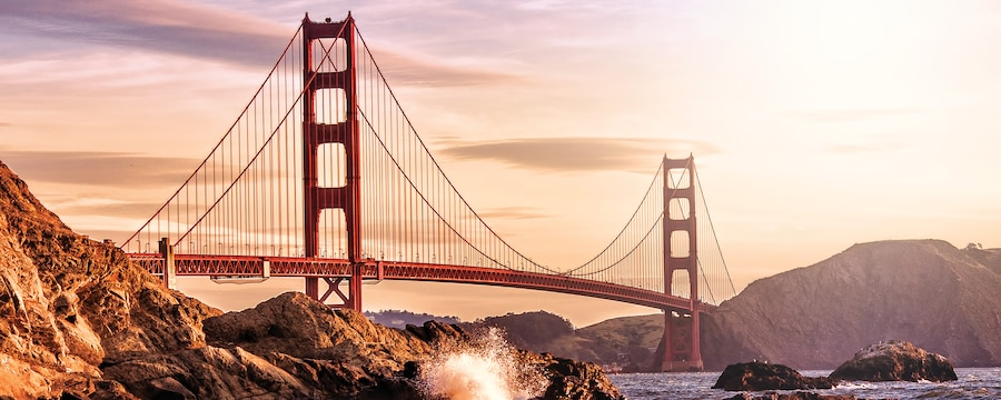 The Golden Gate in San Francisco, California
