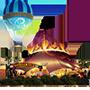 Icono de la carpa de Cirque du Soleil