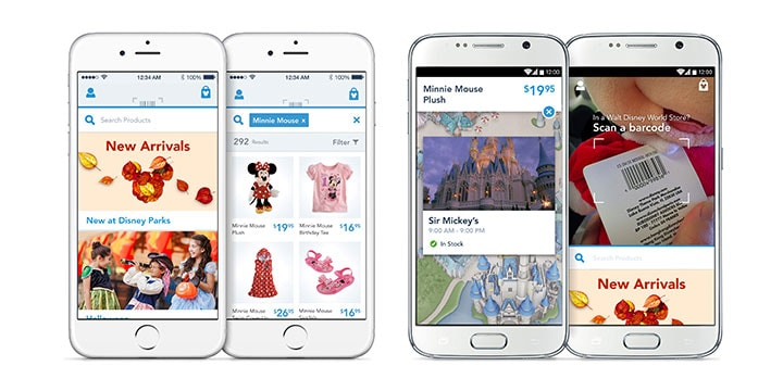 Image result for My Disney Experience released today includes the launch of Mobile Order service.