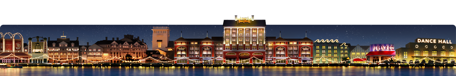 Área de Disney's BoardWalk