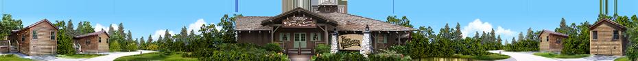 Les chalets du Disney's Fort Wilderness Resort